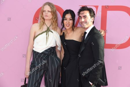 Stock Picture of Hanne Gaby Odiele, Laura Kim and Fernando Garcia