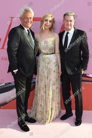 Stock Photo of Mark Badgley, Heidi Gardner and James Mischka