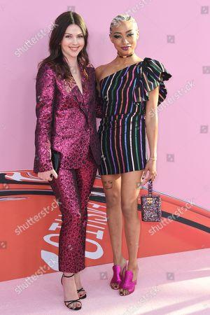 Tanya Taylor and Tati Gabrielle