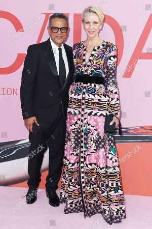 Naeem Khan and Karen Bjornson Macdonald