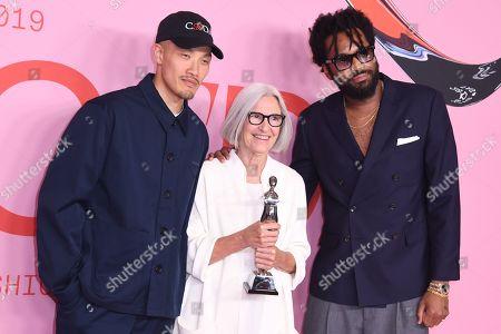 Editorial image of CFDA Fashion Awards, Winners Walk, Brooklyn Museum, New York, USA - 03 Jun 2019