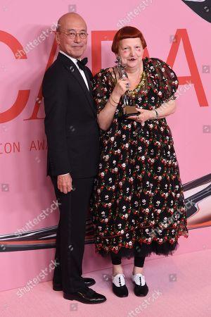Editorial picture of CFDA Fashion Awards, Winners Walk, Brooklyn Museum, New York, USA - 03 Jun 2019