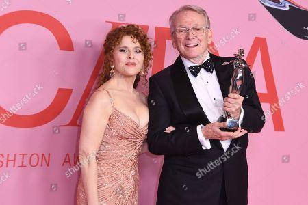 Bernadette Peters and Bob Mackie