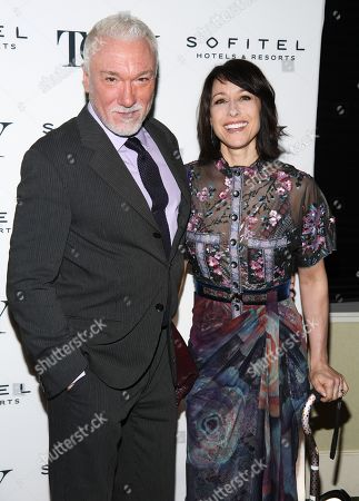 Stock Photo of Patrick Page and Paige Davis
