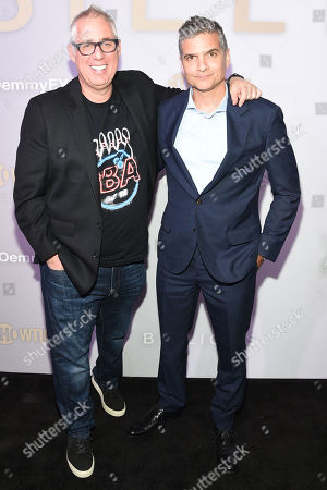 Stock Image of Brian Koppelman, David Levien