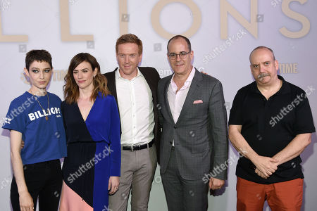 Asia Kate Dillon, Maggie Siff, Damian Lewis, Guest, Paul Giamatti