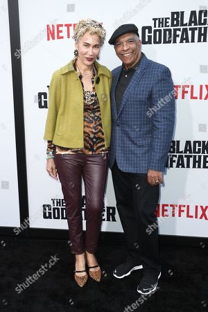 Stock Photo of Marguerite Lathan and Stan Lathan