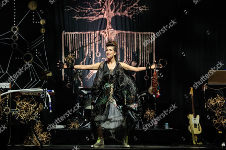 Editorial image of Imogen Heap in concert at ACL Live, Texas, USA - 01 Jun 2019