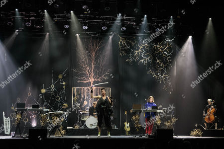 Editorial photo of Imogen Heap in concert at ACL Live, Texas, USA - 01 Jun 2019