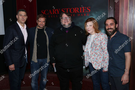 Nick Meyer, Andre Overdal, Guillermo Del Toro, Terry Press with Jason Brown