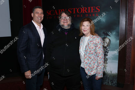 Stock Photo of Nick Meyer, Guillermo Del Toro with Terry Press
