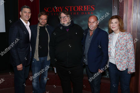 Nick Meyer, Andre Overdal, Guillermo Del Toro, Miles Dale with Terry Press