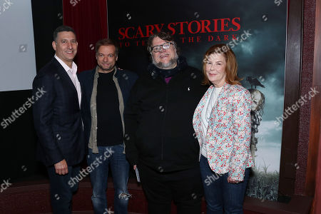 Editorial picture of Guillermo del Toro and Andre Ovredal present footage and new trailer for 'Scary Stories To Tell In The Dark', New York, USA - 03 Jun 2019
