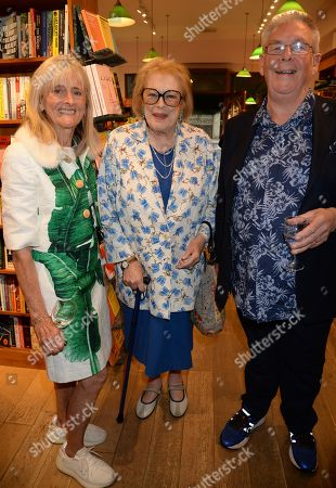 Lady Antonia Fraser with Ian Ross and wife