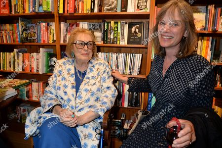Lady Antonia Fraser and guest