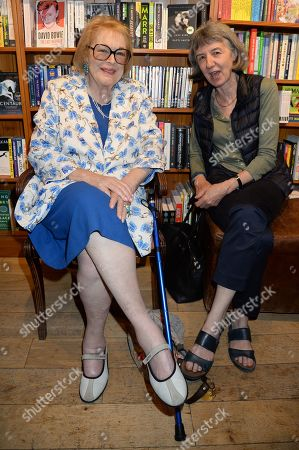 Stock Photo of Lady Antonia Fraser and guest