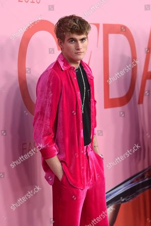 Presley Walker Gerber attends the CFDA Fashion Awards at the Brooklyn Museum, in New York