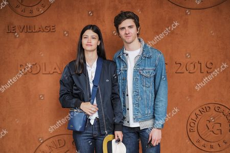 Editorial image of Celebrities at Roland Garros 2019 French Open, Day Nine, Paris, France - 03 Jun 2019