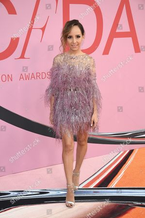 Lilliana Vazquez attends the CFDA Fashion Awards at the Brooklyn Museum, in New York