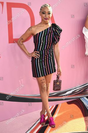 Tati Gabrielle attends the CFDA Fashion Awards at the Brooklyn Museum, in New York
