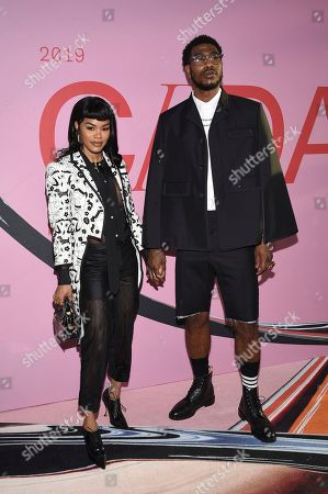 Teyana Taylor, Iman Shumpert. Teyana Taylor, left, and Iman Shumpert attend the CFDA Fashion Awards at the Brooklyn Museum, in New York