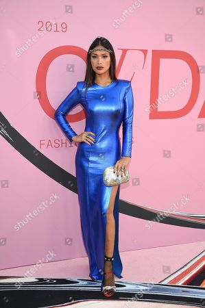 Geena Rocero attends the CFDA Fashion Awards at the Brooklyn Museum, in New York