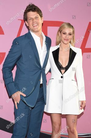 Wes Gordon, Lili Reinhart. Wes Gordon and Lili Reinhart attend the CFDA Fashion Awards at the Brooklyn Museum, in New York