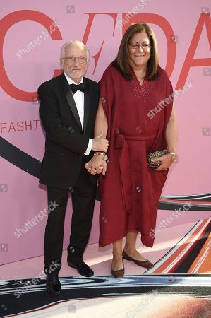 Fern Mallis attends the CFDA Fashion Awards at the Brooklyn Museum, in New York