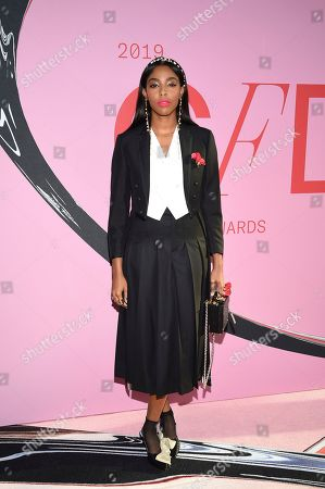 Jessica Williams attends the CFDA Fashion Awards at the Brooklyn Museum, in New York