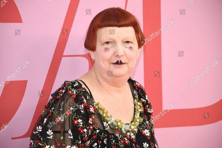 Lynn Yaeger attends the CFDA Fashion Awards at the Brooklyn Museum, in New York