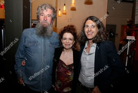 Stock Photo of Les Waters, Deirdre O'Connell and Lucas Hnath