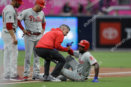 Editorial image of Phillies Padres Baseball, San Diego, USA - 03 Jun 2019
