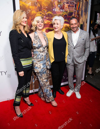 Laura Linney, Lauren Morelli, Olympia Dukakis and Alan Poul