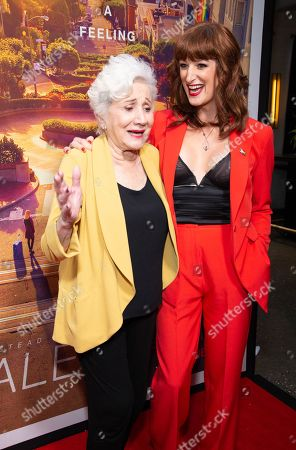Olympia Dukakis and Jen Richards