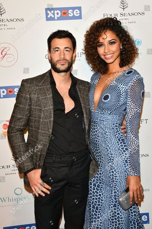 Flora Coquerel and her husband