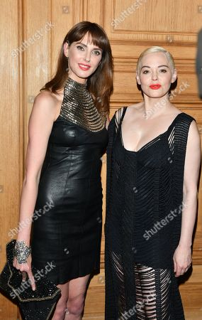 Frederique Bel and Rose McGowan