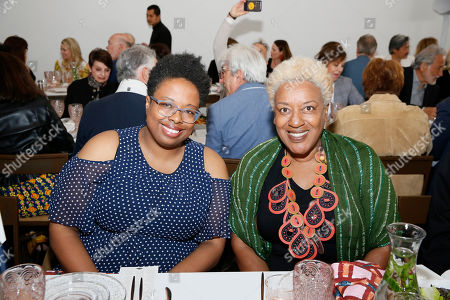 Jamillah James and CCH Pounder
