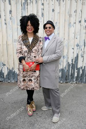 Janine Sherman Barrois and Lyndon Barrois