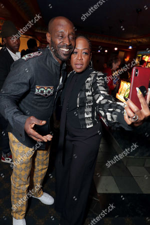 Rob Morgan, Tichina Arnold
