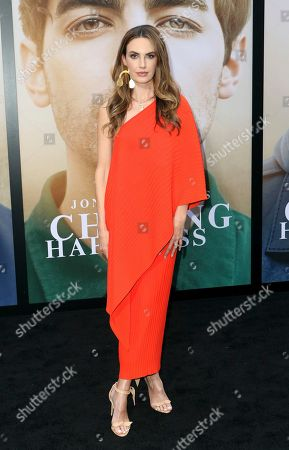 "Elizabeth Chambers attends the World Premiere of ""Chasing Happiness"", in Los Angeles"