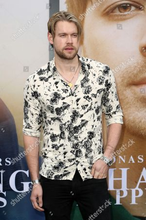 "Chord Overstreet attends the World Premiere of ""Chasing Happiness"", in Los Angeles"