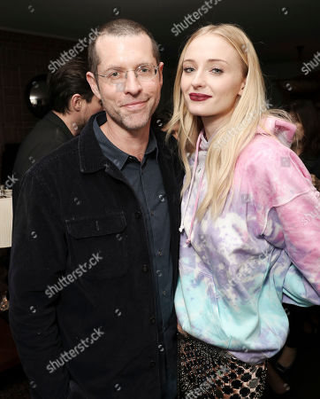 D. B. Weiss and Sophie Turner