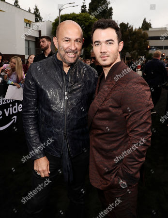 John Varvatos and Kevin Jonas