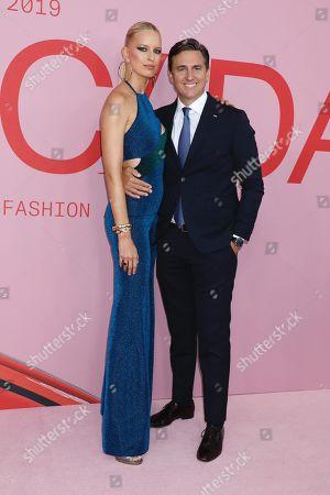 Stock Picture of Karolina Kurkova and Archie Drury