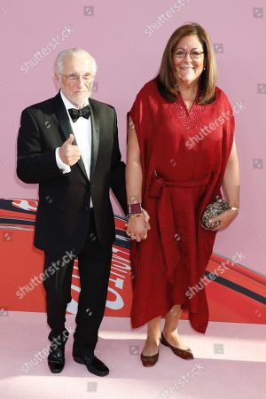 Stock Picture of Stan Herman and Fern Mallis
