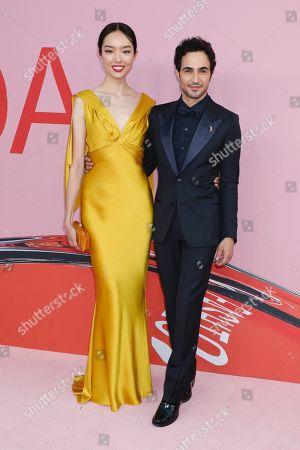 Fei Fei Sun and Zac Posen