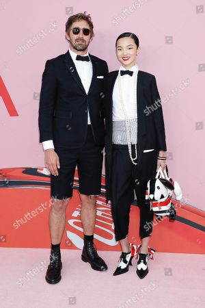 Stock Image of Lee Pace and Xiao Wen Ju