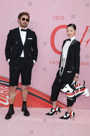Stock Photo of Lee Pace and Xiao Wen Ju