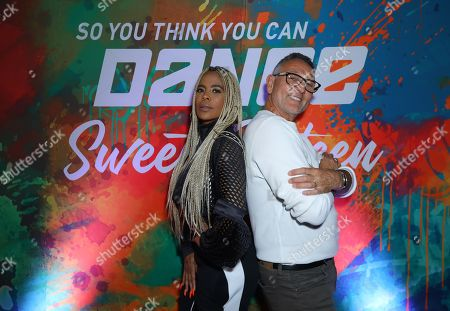 Laurieann Gibson and Jeff Thacker