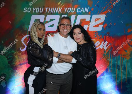 Stock Image of Laurieann Gibson, Jeff Thacker and Doriana Sanchez